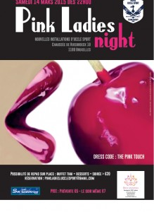Pink Ladies Night Affiche