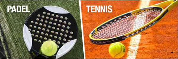 Padel et Tennis Header