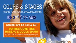 Portes ouvertes Roseau et Uccle Sport.fw